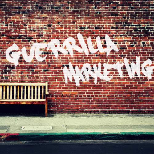 Guerrilla and promotional activities
