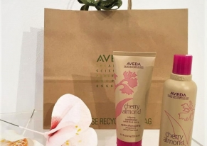 Smart Eventi organized a press day to launch the new Cherry Almond line by Aveda.