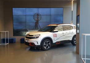 We've organized a press day for Citroën to present White Cruise Adventure car.