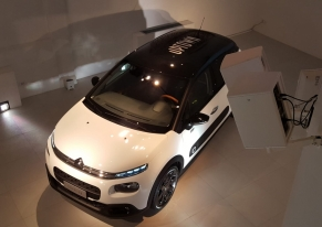 Smart Eventi organized a press day to launch the new model Citroën C3 UPTOWN.