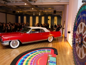 Smart Eventi organised a party in Las Vegas Casinò style to its sales force