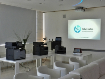 New Hp printers unveil by Smart Eventi for RPN