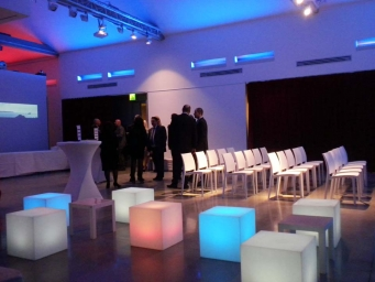 Corporate cocktail organised by Smart Eventi to celebrate ten years of activity of the Italian branch of Ekol Logistics