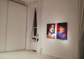 For the second time Smart Eventi found a suitable location for Francesca Agrati's exhibition.