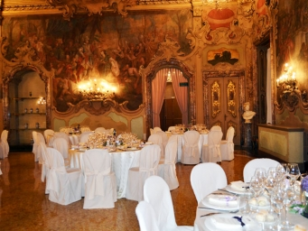 Smart Eventi organised a gala dinner for Global Real Estate Institute in a charming venue in the heart of Milan