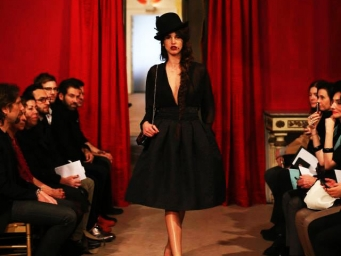 Fashion show by Messagerie organized in Milan by Smart Eventi