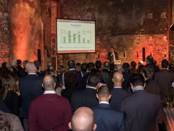 Smart Eventi organised for Total Erg a corporate cocktail to present the annual budget of the company