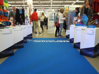Smart Eventi has been chosen by Decathlon to organise the annual prizegiving called Innovation World.