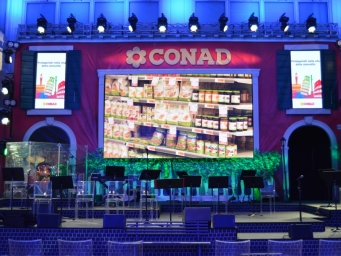 We realised an event for Conad in collaboration with Prospecta at Salone dei tessuti.