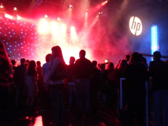 musical event organised by Smart Eventi in collaboration with Hp and Universal Music
