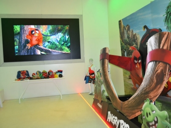 In collaboration with We Do Pr we organise a press day to launch the Angry Birds film