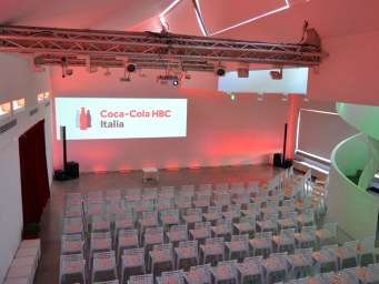 Smart Eventi organised two days meeting e a gala dinner for the employees of Coca Cola Hellenic