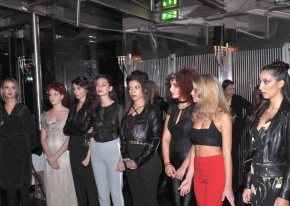 We organised the first contest among Aveda's hair salons at Old Fashion club in Milan