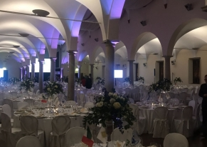 Inaugural gala dinner for the Formula 1 2017 Italian Grand Prix for our customer Aci together with the Monza's Racetrack.