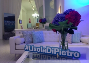 "We organised Mediaset's press event for the presentation of the new fiction of canale 5 ""L'Isola di Pietro"""