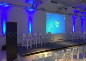 We've organised a meeting for Philips to introduce the new reality of Signify company.