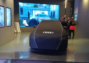 We organised an event for Sesto Autoveicoli to launch the new Audi A8.