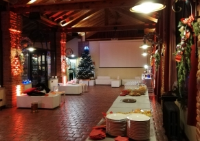 Smart Eventi found a sensational location for Facile.it's Christmas party.