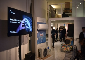 Smart Eventi organized a press day for Midea to present the complete home line.